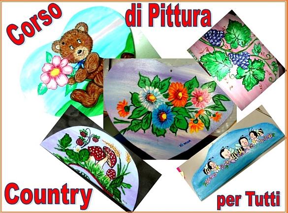 Pittura country per tutti