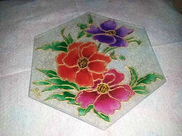 Pittura artistica su vetro
