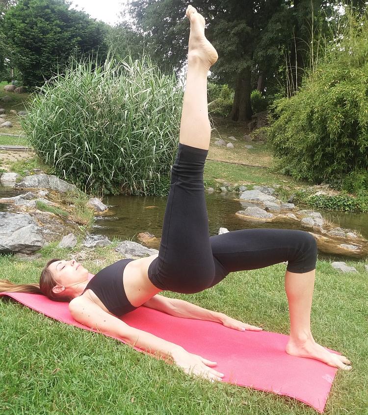 Pilates immersi nella natura