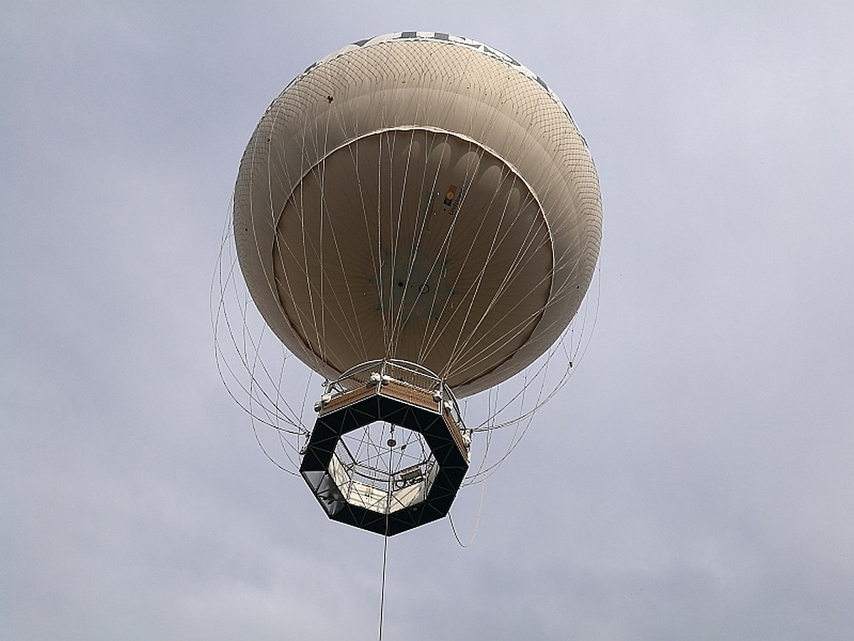 Turin Eye | The World's Biggest Aerostatic Balloon